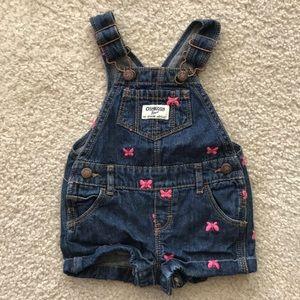EUC Oshkosh baby overalls